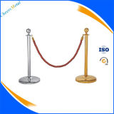 Cheap Portable Stainless Steel Queue Barrier Pole Stand for Sale