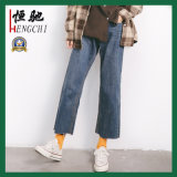 High Waist New Fashion Ladies Refreshing Denim Jeans