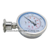 Tri Clamp Pressure Gauge Diaphragm Type 100mm Dial