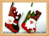 Factory Direct Craft Group of 2PCS Stocking for Holiday Decoration