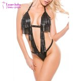 Factory Price Women Hot Sexy Halter Teddy Lingerie L60820