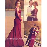 Long Sleeve Prom Prom Gowns Spandex Mermaid Evening Dress W147196