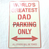 No Parking Signs Wall Decoration Metal Sign