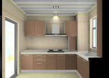 Modern Glossy Wooden Kitchen Cabinet with MDF