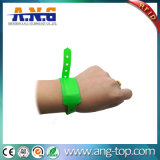 Waterproof Disposable Hf PVC Wristband for Water Park