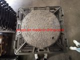 En 124 D400 Ductile Iron Casted Manhole Square Frame with Round Cover
