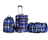New Pattern Blue Stripe Trolley Bag/Travel Bag/Sport Bag/Gym Bag/Backpack Series
