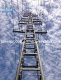 Megatro 35kv Narrow Base Steel Tubular Tower