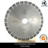 Silent Diamond Saw Blade, Granite Stone Cutting in Wet
