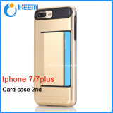 High Quality Card Slots Cell Phone Case for iPhone7, iPhone7plus