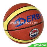 Deep Channel Rubber Basketball Ball/Emboss Logo Basketball/Dood Design