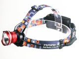 Cat Eye Big Lens Slide Zoom CREE Xml T6 LED Headlamp with Back Battery Case Powered by 3AA or 18650