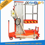 10m Single Mast Aluminium Lift Platform for Indoor Use