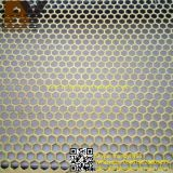 Hexagonal Perforated Metal Mesh / Punched Hole Metal Sheet