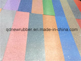 Wear Resistant Colourful Airport Rubber Flooring