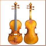 Middle Grade Half Hand-Made Coffee Color Violin