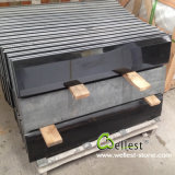 China G511 Polished Mongolia Black Granite Tile