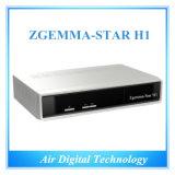 Satellite Receiver Media Player Zgemma Star Linux HD Satellite Receiver Zgemma Star H1 Combo DVB-S2+C