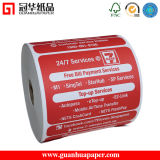 Cash Register Paper Type Thermal Paper Roll/ Pre - Printed Roll