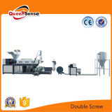 Double Screw PE PP Plastic Crushing Machine