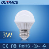 Hot Sale A50-3W LED Light Bulb Lamp with CE RoHS UL