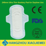 245mm Ultra Thin Winged Sanitary Pad for Day Use