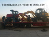 Chinese Construction Machinery 0.3m3 Wheel Excavators Machine for Sale