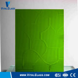 3-6mm Green Puzzle/Nsdhiji/Mistlite Patterned/Figured Glass with Ce&ISO9001