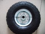 High Quality Pneumatic Rubber Wheel (10X3.5-4)