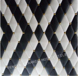 Glazed Tile Ceramic Mosaic, Ceramic Wall Tile Background Decoration, Foshan Leather Ceramic Mosaic Tile with Competitive Price