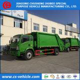 Sinotruk HOWO 6-Wheel Garbage Compactor Truck Small 4cbm-6m3 Garbage Truck
