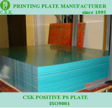 for Africa Market Positive Offset Plate Green Color