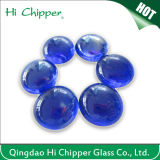 Cobalt Blue Flat Back Glass Gemstone Beads