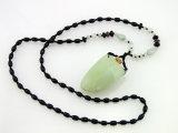 N. L. P Unique Gemstone Essential Oil Pendant/Necklace Handmade