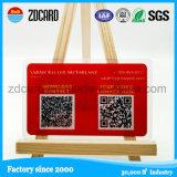 Charming Design Promotional PVC Membership Card