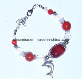 Semi Precious Gemstone Fashion Natural Beaded Bracelet Gifts