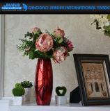 Colored Glassware Household Glass Vase for Flower Decoration