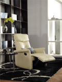 Elegant Design Arm Chair with Recliner Function