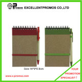 Recycled Notebook with Pen, Book with Pen, Note Book, Pen (EP-N1083)