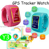 0.96 OLED Screen Kids GPS Tracker Watch with Geo-Fence (Y3)