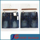 Factory Wholesale Sexy Denim Mini Skirts (JC2053)