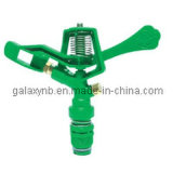 "Full Circle Plastic Impact Sprinkler with 3/4"" Male Threads"