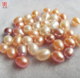 9-10mm Oval / Rice Shape Fresh Water Loose Pearl