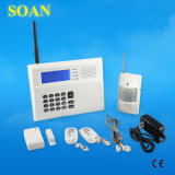 GSM PSTN Wireless/ Wired Home Burglar Alarm System with Voice Prompt (SN2300G)