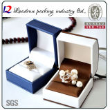 Leather Velvet Jewelry Storage Box Ring pendant Bracelet Bangle Packing Gift Box (Ys331)
