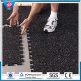 Recycle Rubber Tile/Colorful Rubber Paver/Wearing-Resistant Rubber Tile