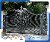 Customized Wrought Iron Gate with Galvanized Panels