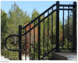Simple Modern Steel Powder Coating Stairs Railings