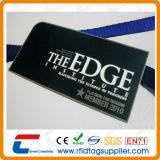 Silk Printing Black Metal Card (CXJM-9001)