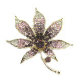 New Design Fashion Flower Metal Brooch
